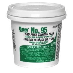 Oatey - 30372 - Lead Free Flux, Paste, Lead Free, 8 oz.