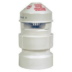 Oatey - 39016 - PVC Air Admittance Valve, 1-1/2 to 2 Inlet Size