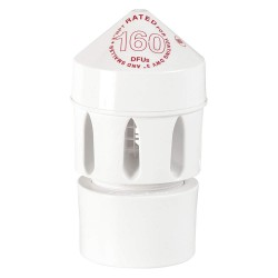 Oatey - 39220 - PVC Air Admittance Valve, 2 to 3 Inlet Size