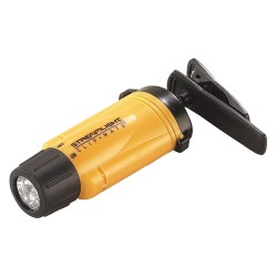 Streamlight - 61100 - Streamlight Yellow ClipMate Head Light With 3 Ultra Bright White LEDs (3 AAA Alkaline Batteries Included)