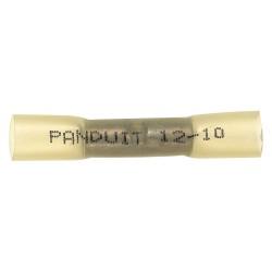 Panduit - BSH10-E - Panduit BSH10-E Heat Shrink Butt Connector, 12 - 10 AWG, Yellow, Pack of 20