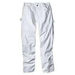 Dickies - 1953WH-32X32 - Men's Painter's Pants, Cotton Drill, Color: White, Fits Waist Size: 32 x 32