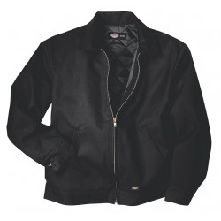 Dickies - TJ15BK-XL - Jacket, Insulated, Poly/Cotton, Black, XL