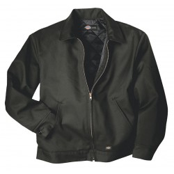 Dickies - TJ15CH-M - Jacket, Insulated, Poly/Cotton, Charcoal, M