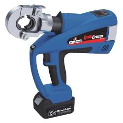 Eclipse Enterprises - 902-484 - Latching Head Cordless Crimping Tool Kit, Pistol Grip, Die Series: U Style