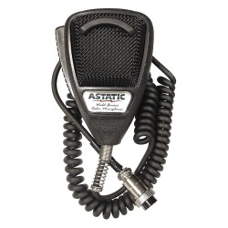 Astatic - 302-10001 - CB Mic, Noise Cancelling, 4 Pin
