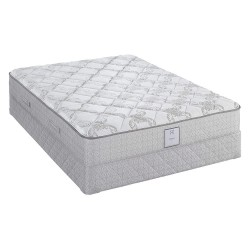 Sealy - 410148-30 - 75 x 38 x 20.6 Plush Euro Top Twin Bed Set