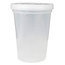 Medical Action Industries - 01068 - 8 oz. Specimen Container, Wide Mouth, PK 100