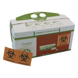 Dynalon - 797303-0002 - Dynalon 797303-0002 Bio-bin Waste Disposal Container, 2.5L, Case of 50