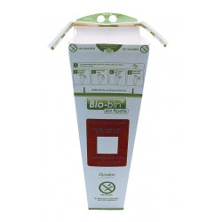 Dynalon - 797303-0006 - Dynalon 797303-0006 Bio-bin Waste Disposal Container, 6L, Case of 40