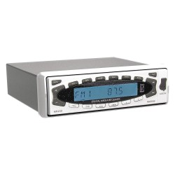 Poly-Planar - MR45D - Poly-Planar MR45D Marine Flash Audio Player - 180 W RMS - iPod/iPhone Compatible - Flip-down - MP3 - AM, FM - USB - Auxiliary Input