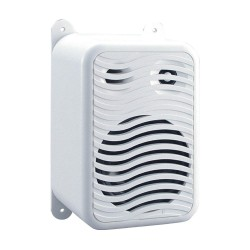 Poly-Planar - MA9020 - Outdoor Box Speakers, White, 5-1/32in.D, PR