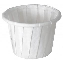 Solo Cup - 075-2050 - 0.75 oz. Souffle Cup, White Paper, 5000 PK