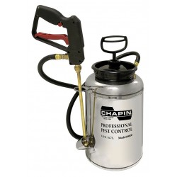 Chapin - 11800W - Handheld Sprayer, Stainless Steel Tank Material, 1-1/2 gal., 65 psi Max Sprayer Pressure