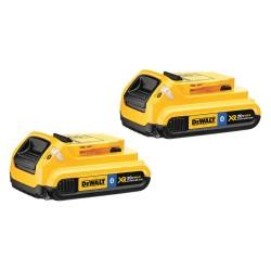 Dewalt - DCB203BT-2 - DeWALT DCB203BT-2 20V MAX 2 Ah Lithium-Ion Bluetooth Compact Battery 2-Pack