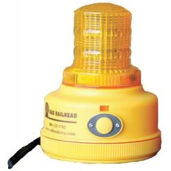 K&E Railhead - M100A-LED - Magnetic Safety/Warning Light