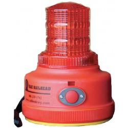 K&E Railhead - M100R-LED - Magnetic Safety/Warning Light