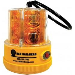K&E Railhead - M18 SOLAR A - Rechargeable Safety Light