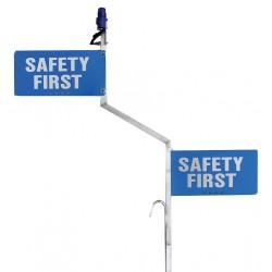 K&E Railhead - KE-SA50 - Safety Sign, For Locomotive Window