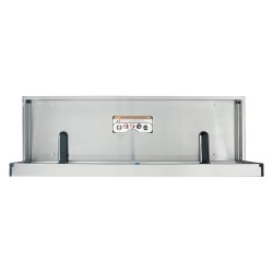 Foundations - 100SSE-SM - Special Needs Changing Station, Horizontal, Flush Mount, Stainless Steel