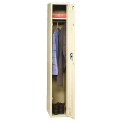 Tennsco - STS-182172-1SD - Wardrobe Locker, Assembled, One Tier, 18 Overall Width
