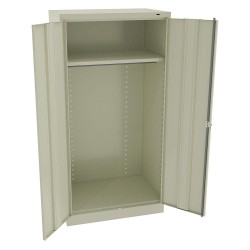 Tennsco - 1481PY - Storage Cabinet, Champagne/Putty, 72 Overall Height, Unassembled