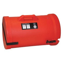 Air Systems - SVH-DC1250 - 50 ft. Duct Carrier with 12 Dia., Orange; Use With 12 Duct