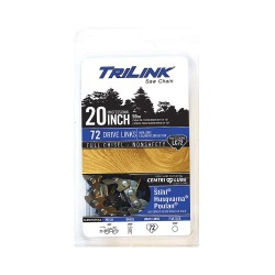 TriLink Saw Chain - CL85072NSTL2 - Replacement Saw Chain, 20in. L, 72 Links