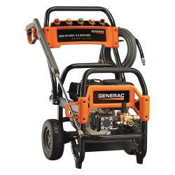 Generac - 6855 - Generac 6855 212cc 3, 600-Psi 2.6-Gpm Gas Powered Commercial Pressure Washer