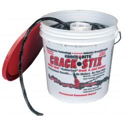 Latex ite / Dalton Enterprises - 2050 - Black Joint and Crack Filler, 8 lb. Pail, Coverage: 125 ft. @ 1/2 x 1/2