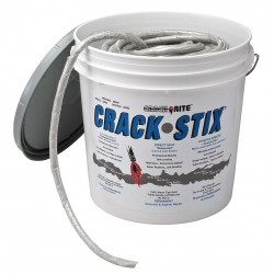 Latex ite / Dalton Enterprises - 2051 - Gray Joint and Crack Filler, 10 lb. Pail, Coverage: 125 ft. @ 1/2 x 1/2