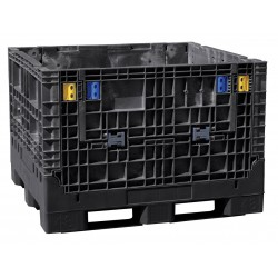 Buckhorn / Myers Industries - BN4845342010000 - Collapsible Bulk Container, Black, 34H x 48L x 45W, 1EA