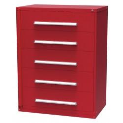 Vidmar - XWRP3596A - Weapon Storage Cabinet, 59x45, Red