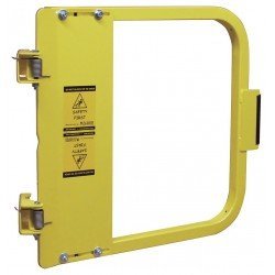PS Doors - LSG-18-PCY - Safety Gate, 16-3/4 to 20-1/2 In, Steel