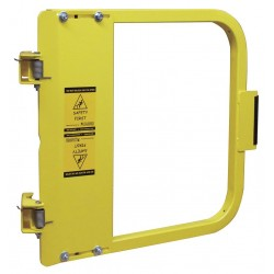 PS Doors - LSG-21-PCY - Safety Gate, 19-3/4 to 23-1/2 In, Steel