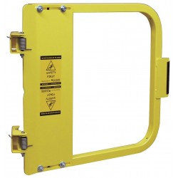 PS Doors - LSG-24-PCY - Safety Gate, 22-3/4 to 26-1/2 In, Steel