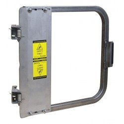 PS Doors - LSG-24-SS - Safety Gate, 22-3/4 to 26-1/2 In, SS