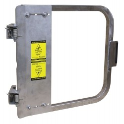 PS Doors - LSG-18-SS-SW - Safety Gate, 16-3/4 to 20-1/2 In, SS