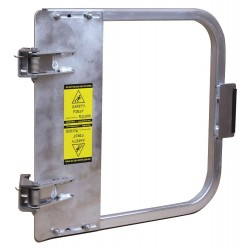 PS Doors - LSG-18-ALU - Safety Gate, 16-3/4 to 20-1/2 In, Alum