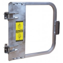 PS Doors - LSG-21-ALU - Safety Gate, 19-3/4 to 23-1/2 In, Alum