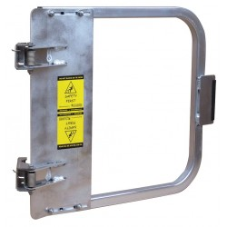 PS Doors - LSG-24-ALU - Safety Gate, 22-3/4 to 26-1/2 In, Alum