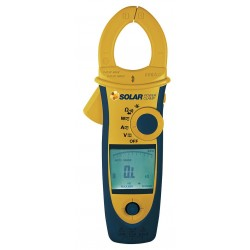 Seaward Electronic - SOLAR POWER CLAMP - Solar Power Clamp, LCD Display, Powered By Battery