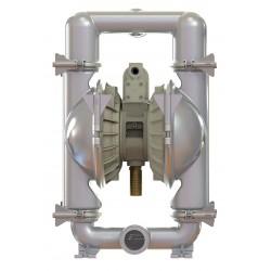 Standard Pump - SPFP30NPS - 316 Stainless Steel Santoprene Single Double Diaphragm Pump, 234 gpm, 120 psi