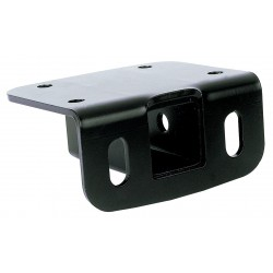 Reese Towpower - 81378 - Class III Step Bumper Receiver with Metal Shield Black Coating Finish and 3500 Capacity GVW (Lb.)