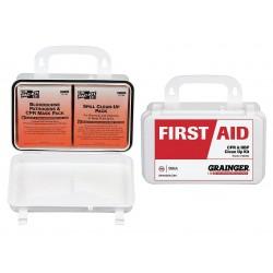 Other - 54503 - Bloodborne Pathogen Kit, Plastic Case, White, 1 EA