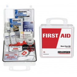 Other - 54558 - Plastic Burn Care Kit, White; People Served: 5