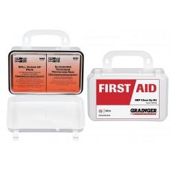 Other - 54517 - Bloodborne Pathogen Kit, Plastic Case, White, 1 EA