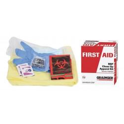 Other - 54587 - Bloodborne Pathogen Kit, Paperboard Box, White, 1 EA