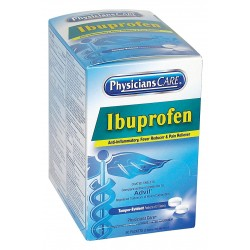 PhysiciansCare - 90015G - Ibuprofen, Tablet, 50 x 2 Count, 50 PK