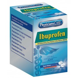 PhysiciansCare - 90109G - Ibuprofen, Tablet, 125 x 2 Count, 125 PK